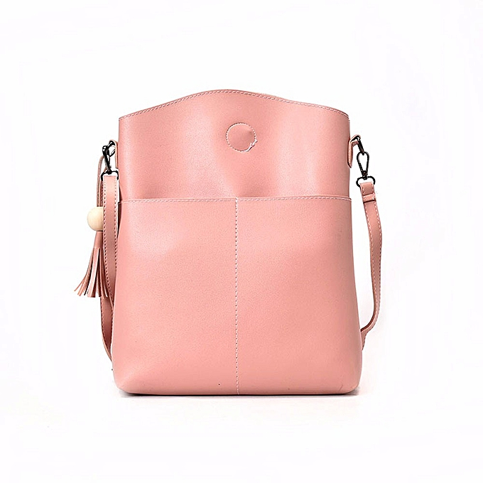 b0956eb4bc4 Haimok Women Bag Three Sets Large Capacity Shoulder Bag Messenger Mobile  Handbags PK