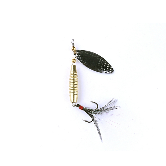 fishing sequins lures rotating blade fiy hard metal spinner bait tackle YEXJ