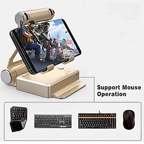 Phone Holder Eat Chicken Game,Android 4 0 Or Above / IOS 7 0 Or Above  Gamepad Joystick Controller For PUBG, FPS Games, Using With Keyboard And  Mouse