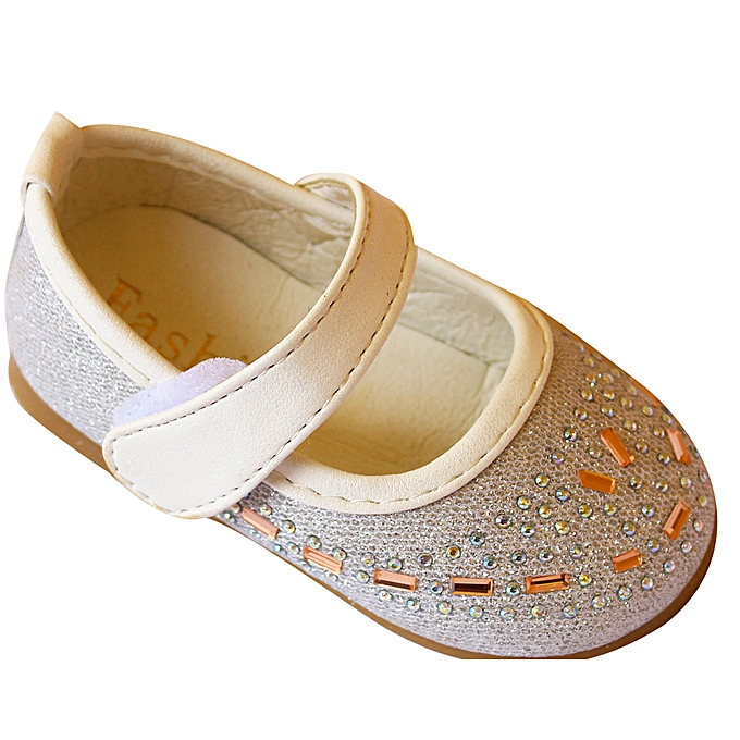 36225af257be Generic Girl s Glitter Shoes - Silver