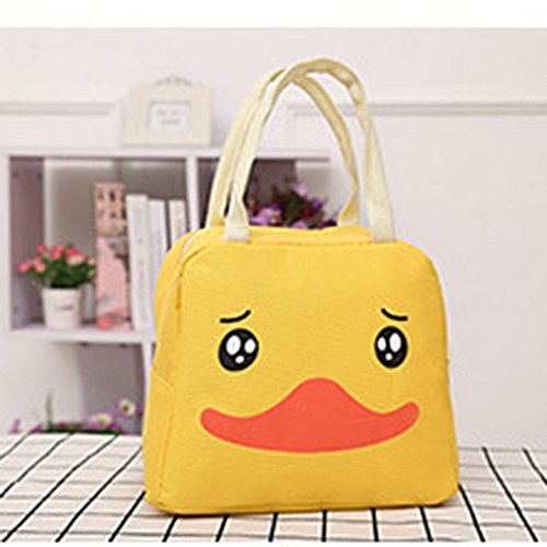 750a3b274c31 Cartoon Animal Lunch Bag Portable Insulated Cooler Bags Picnic Lunchbox
