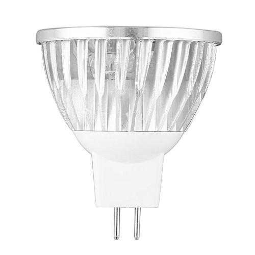 45 Degree Beam Angle LED Bulb MR16 Warm White Spot Light 4W 12V Spotlight  silver