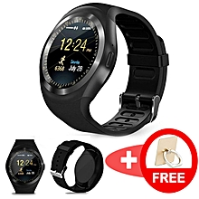 e5882d6bbd1966 2019 Bluetooth Y-Series Smartwatch / Smartphone Watch / Wristband With Touch  Screen Supports Simcard