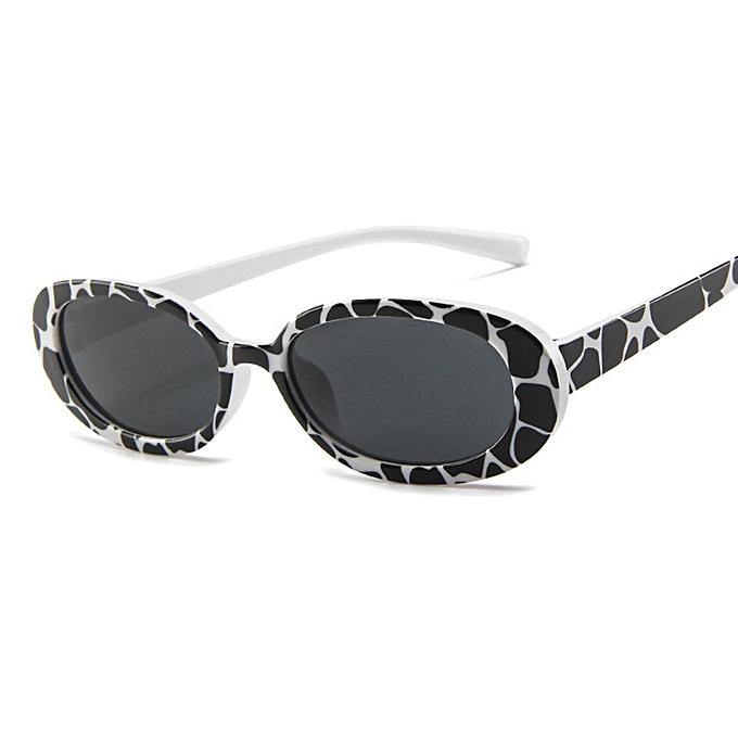c00066093ad0 Buy FASHION Small Box Personalized Cow Color Sunglasses Decorative ...