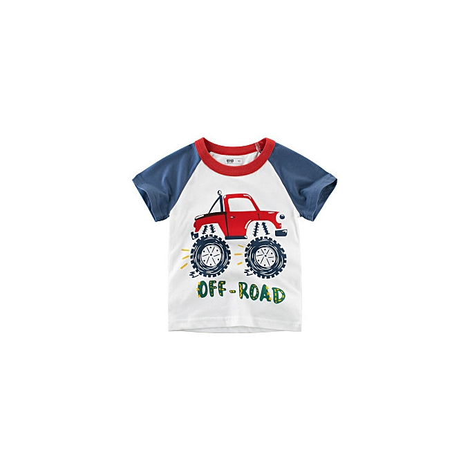 1005492f34e31 2019 New Boys' Short-sleeved T-shirt Pure Cotton Kids Wear Clothes