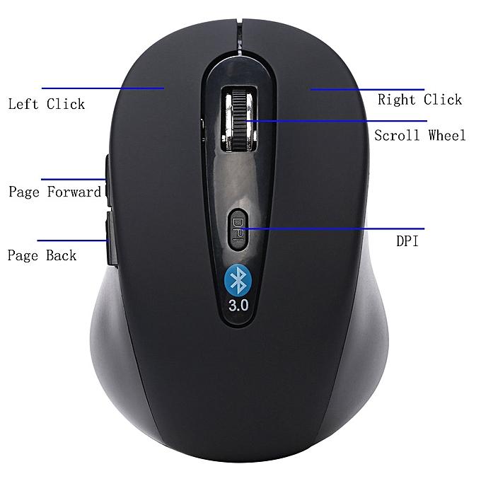 7757e9eae0f ... Wireless Mini Bluetooth 3.0 6D 1600DPI Optical Gaming Mouse Mice for  Laptop