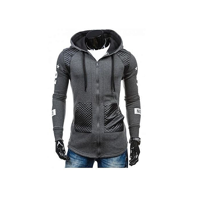 5dcf0a15c Refined Winter Hoodie Male Cardigan 2018 Refined Long Sleeve Hoodies Men  Zipper Sweatshirt Hoodies Mens Hooded