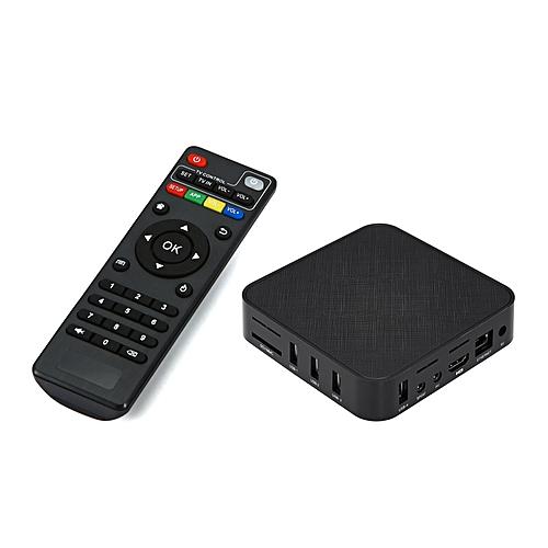 T96X Smart Android 7 1 TV Box 2GB/16GB RK3229 Quad Core UHD 4K Full HD  1080P VP9 H 265 Miracast DLNA AirPlay WiFi LAN RJ45 HD Media Player US Plug