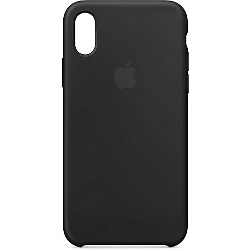 check out 70eca d82d7 Silicone Case For Apple iPhone X - Black