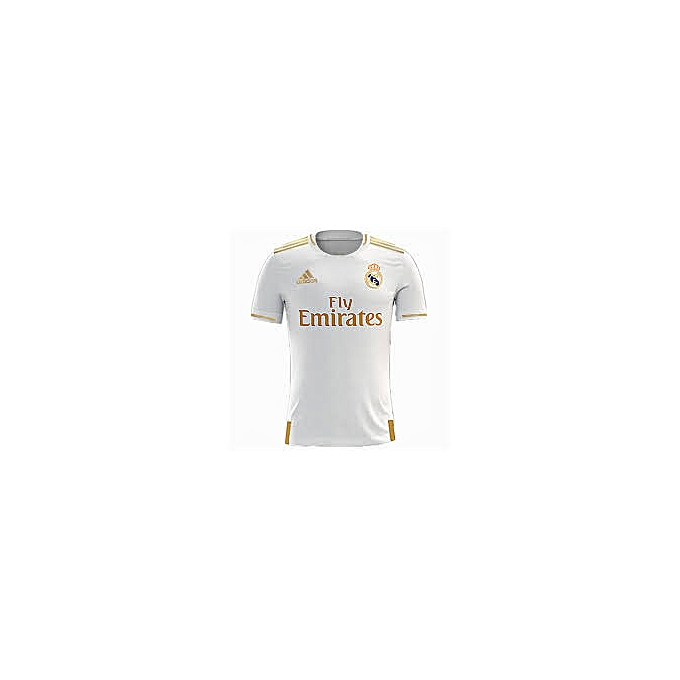 half off 38510 32ee6 2 Home and away 2019/20 Real Madrid Jersies, Replica - White,Light green
