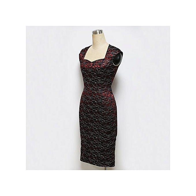 958f88be ... Womens Sexy Elegant Summer Floral Flower Lace Cap Sleeve Slim Casual  Party Fitted Sheath Bodycon Dress