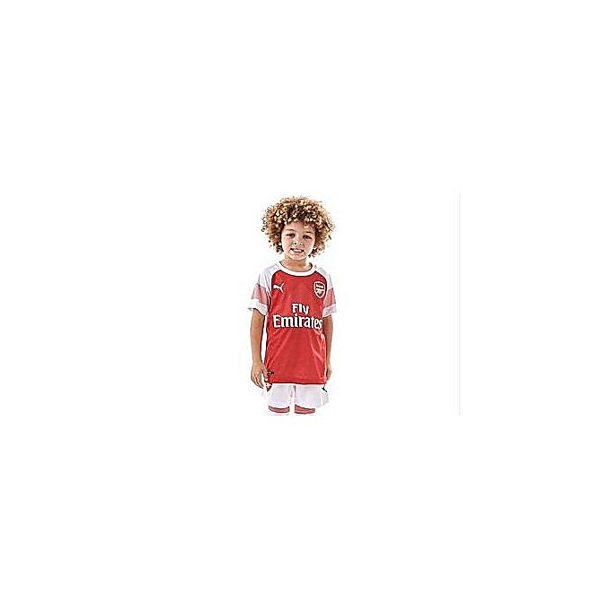 huge discount 3fa9a 3195a Replica Arsenal FC 2018/19 Kids Full Jersey, Short Sleeve - Red,White