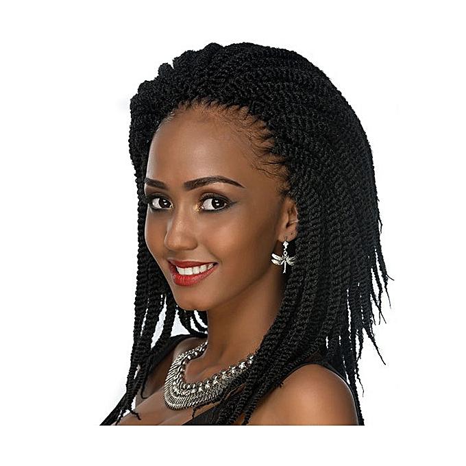 Buy Style Crochet Braid Twist Hair Hair Black Online Jumia Uganda