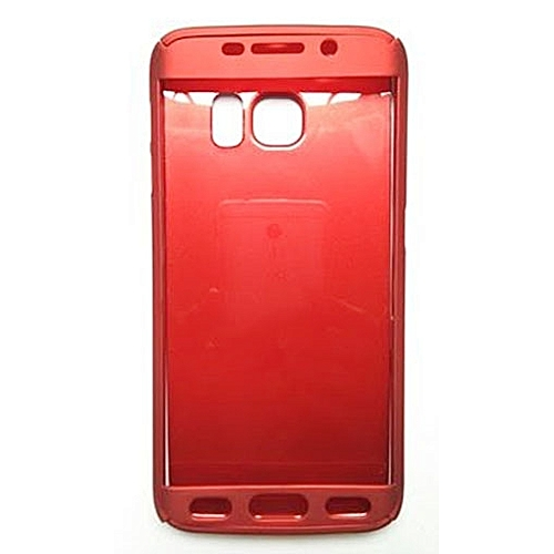pretty nice 7acd1 0e281 360 Degrees Cover Case for Samsung Galaxy S6 Edge - Red