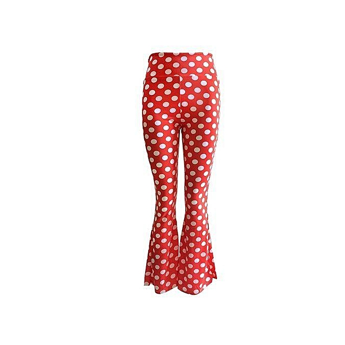 2a2939e8e24855 Women Print Bell Bottom Legging Soft Women Flare Pant Wide Leg Printed  Legging Pants Feminino Trousers
