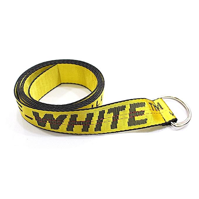 05a076b92727 New Fashion Off-White Unisex Belt - Yellow
