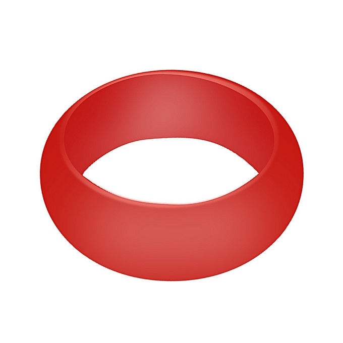 ba6a0783ffe6a Hiamok 1X Silicone Wedding Engagement Ring Men Women Rubber Band Outdoor  Sport