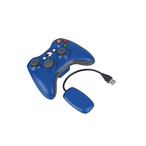 2efe13b5 Buy Generic Bluetooth Controller Joystick Gamepad USB Charge For XBOX 360  -blue. online   Jumia Uganda