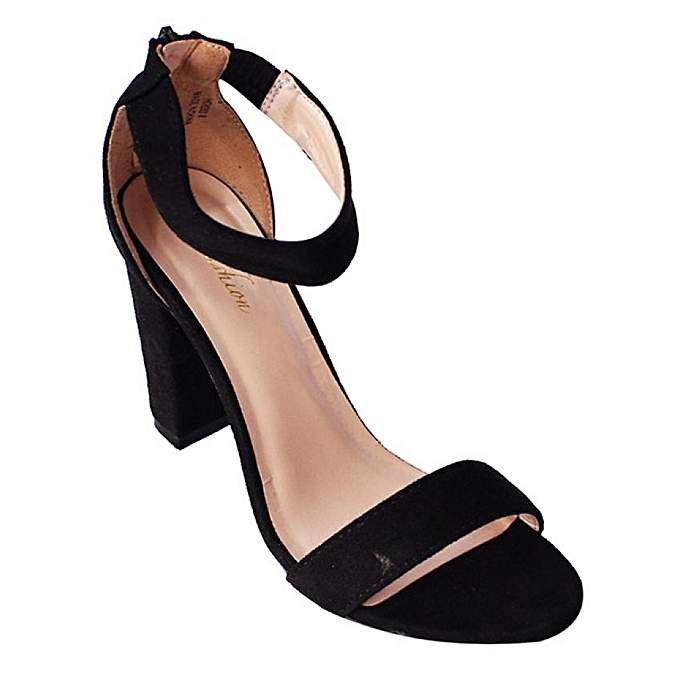 bf9f5d9ac323 Women s Casual And Formal Block Heel Shoes - Black