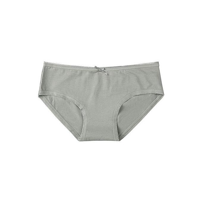 943dbef627b2c Women's underwear cotton mid-rise girls sexy triangle shorts large size  lace seamless underwear-