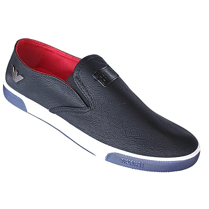 Men s Casual Van Sneakers - Black b892aeebaa37