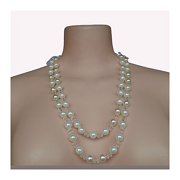 244c1c06ef4 Women's Pearls Necklace - Clear