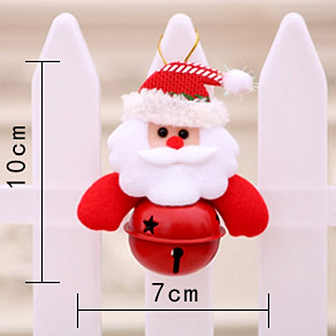 ... Christmas Bells Decorations for Home Christmas Tree Ornaments red