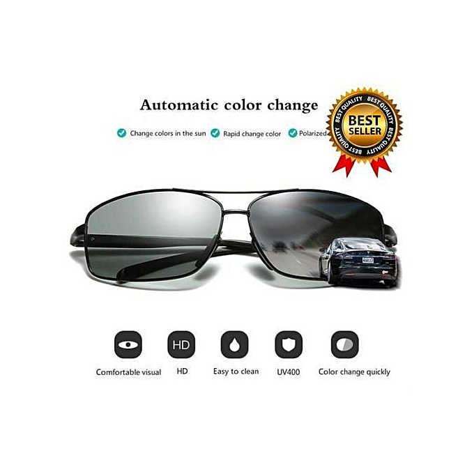 Refined Refined Style Fashion Rapid Change Color Polarized Driving  Sunglasses For Men