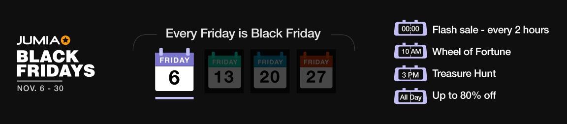 Black Friday 2020 - Enjoy the Biggest Black Friday in Uganda   Jumia UG