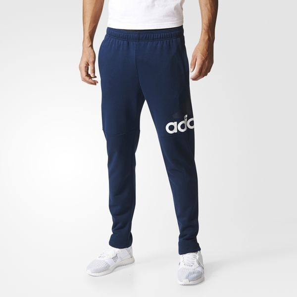 Men's Essentials Logo French Terry Pants Blue CE9344