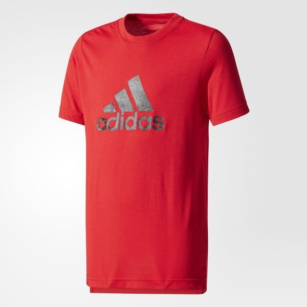 Youth Prime Logo Tee Red CE5750