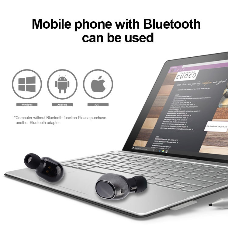 7 wireless bluetooth earphone