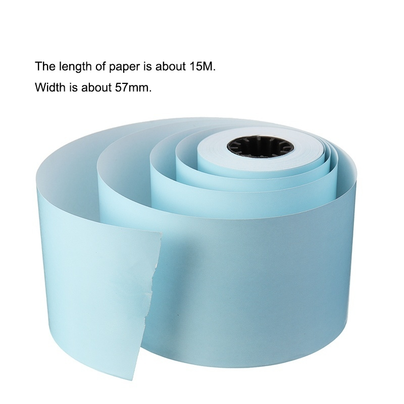 57 *50mm Thermal Printing Paper For MEMOBIRD Photo Printer  Red/Pink/Yellow/Blue