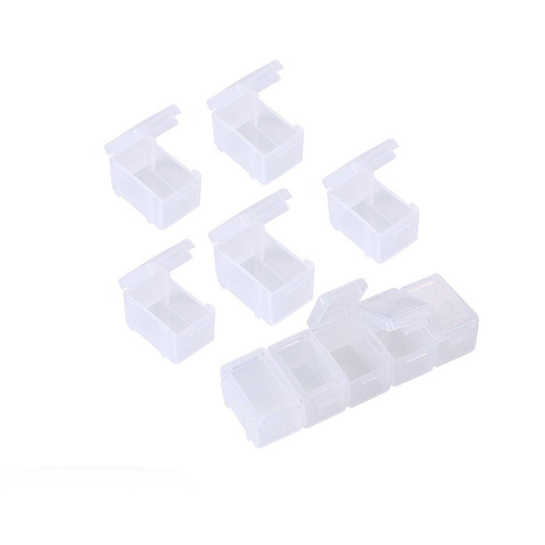 3671ae6ed Buy Generic Transparent Mini Jewelry Storage Box Multifunction PP ...