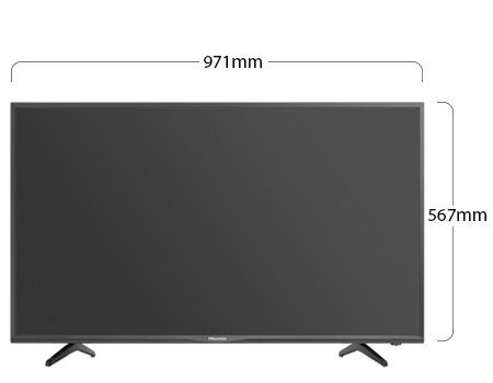 Hisense Full HD TV Physical Features