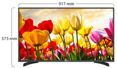 Hisense 32 Inch LED TV - HX32M2160H Physical Features