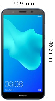 Huawei Y5 Prime 2018 - Physical Features