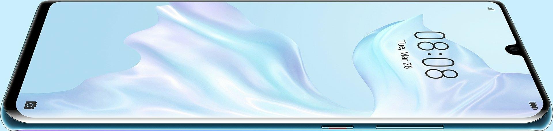 p30 pro dewdrop display