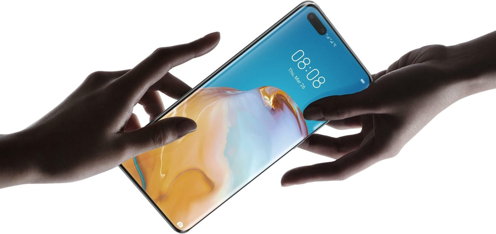 huawei p40 pro design touch and feel