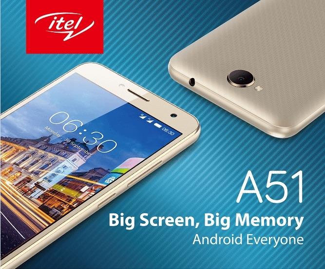 iTel A15 - 512MB RAM, 8GB, 5 5
