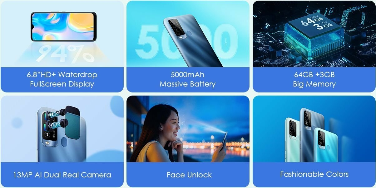 iTel P37 Pro key specs and features