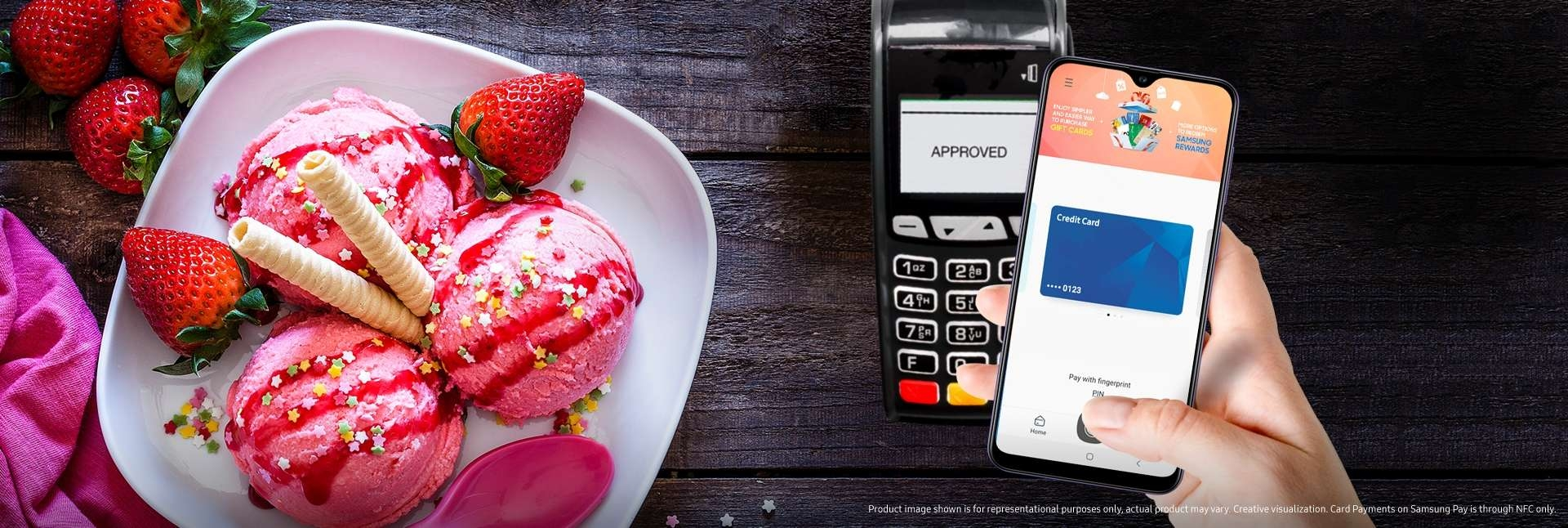 Samsung Galaxy A30s with Samsung Pay