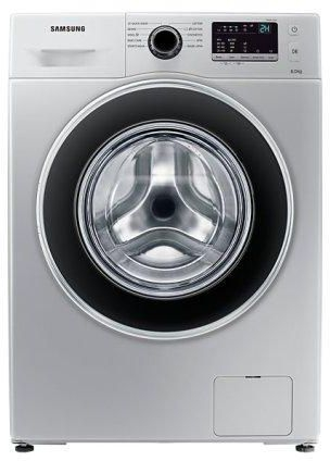 Samsung Washing Machine WW60J3280HS Front Load 6KG Silver P.Memory