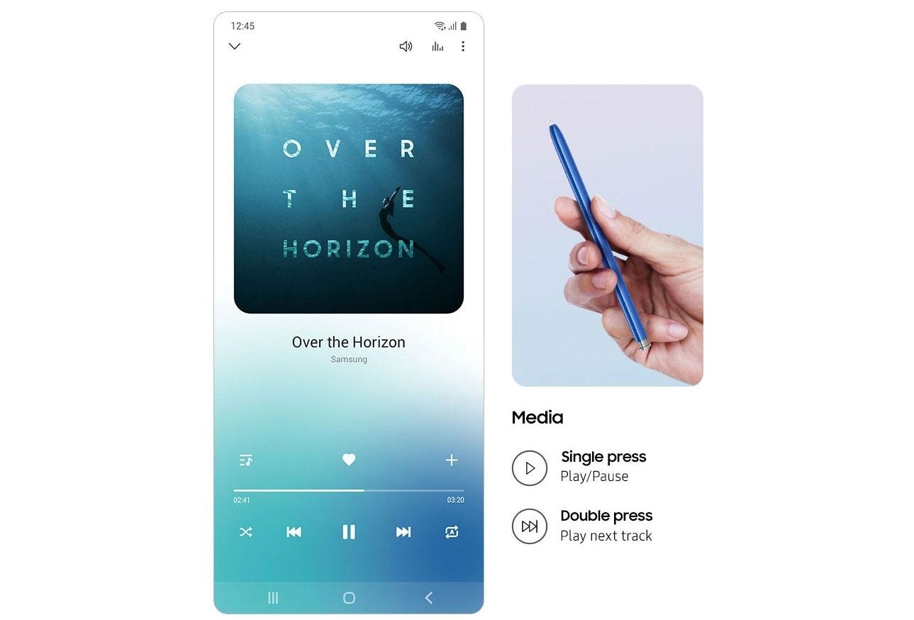 Samsung Galaxy Note10 Lite - S Pen Remote Control Feature