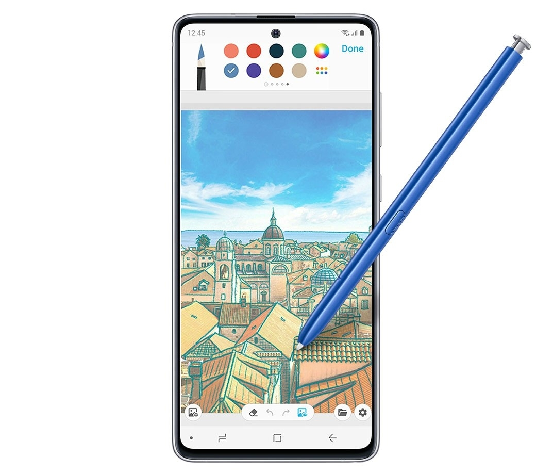 Samsung Galaxy Note10 Lite - Penup App