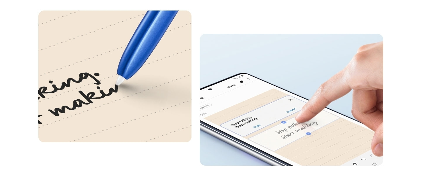 Samsung Galaxy Note10 Lite - Instant Handwriting Feature