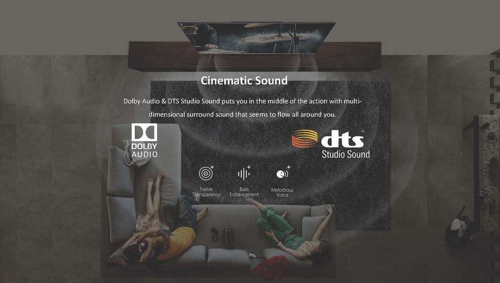 Dolby Cinema sound