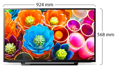Sony Bravia Full HD LED TV - Physical Features