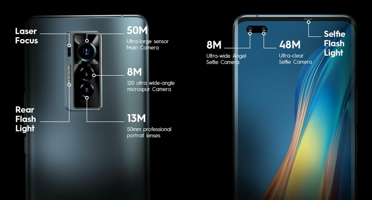 Tecno unveils Phantom X - its first premium phone with 50MP main and 48MP  selfie cameras - GSMArena.com news