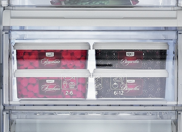 Clear Freezer Fronts